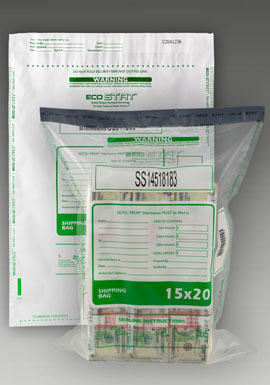 Tamper Evident Cash Shipping Bag